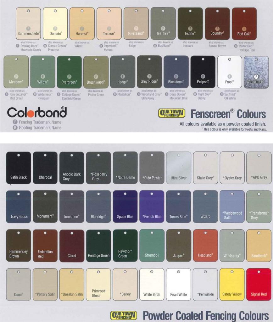 colorbondfencing